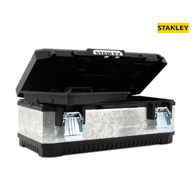 Stanley 50cm Galvanised Metal Toolbox (20'')