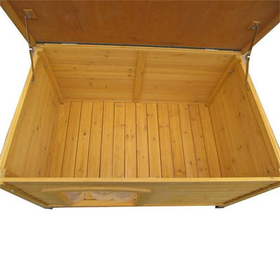 Jolly Paw Large Flat Roof Kennel (116 x 82 x 79cm)