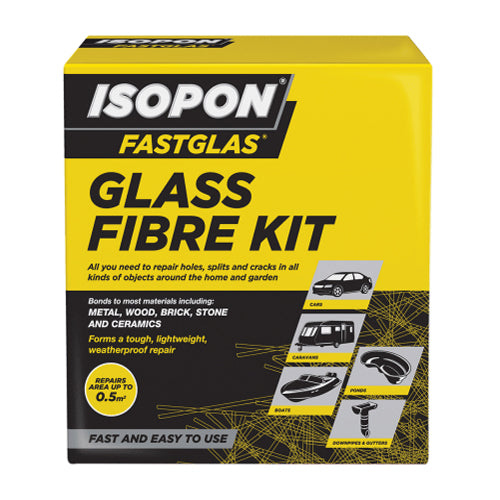 ISOPON® FASTGLAS Large Resin & Glass Fibre Kit