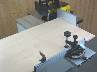 Charnwood W040 2HP Spindle Moulder with Sliding Beam