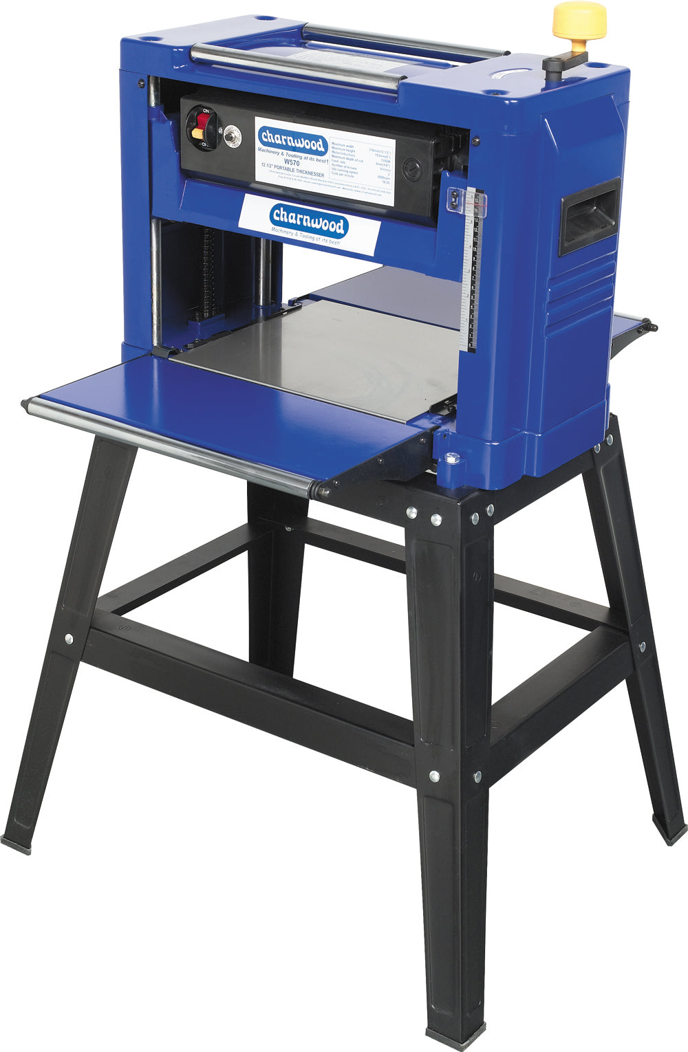 Charnwood 12'' Thicknesser with Floostand (1500w)