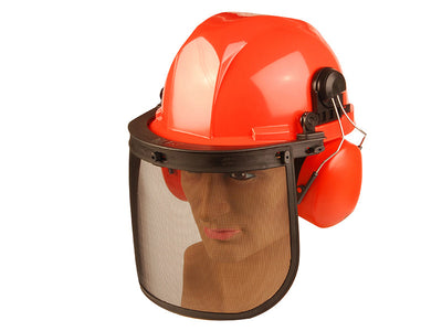ALM Chainsaw Safety Helmet with Ear Defenders