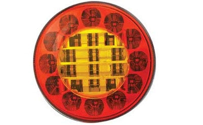 10/ 30v Round 122mm Tail Lamp