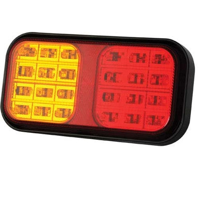 12/ 24v Multi Function Tail Light (190 x 100 x 37mm)