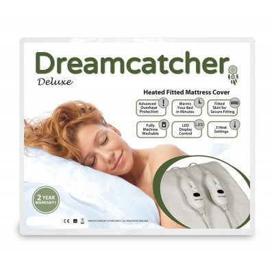 Dreamcatcher King Size Luxury Polyester Electric Blanket