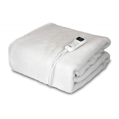 Dreamcatcher Single Premium Fleece Heated Electric Blanket