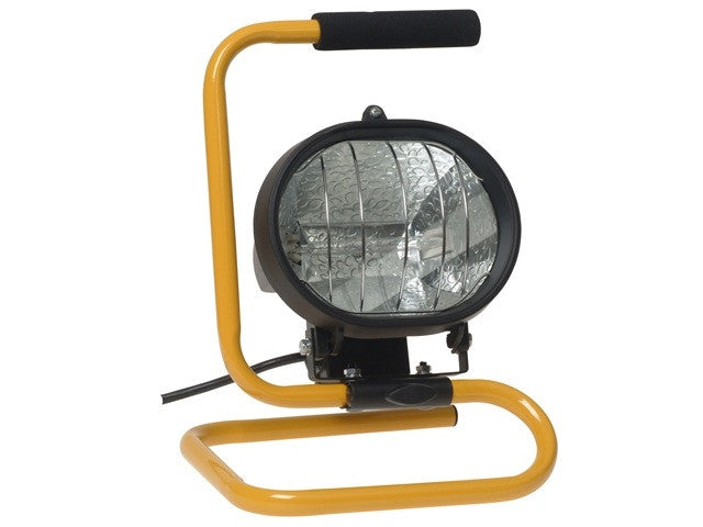 Faithfull 500w Halogen Portable Sitelight (110v)