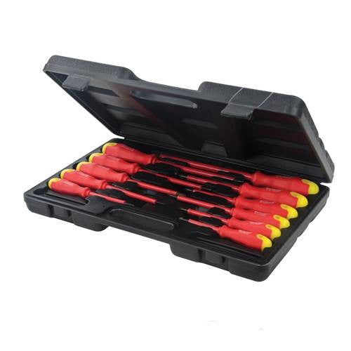 Silverline 11pc Insulated Soft Grip Screwdriver Set