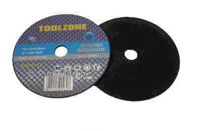 "3"" Metal Cut Off Discs (25pk)"