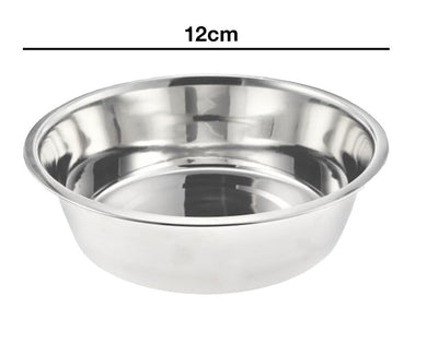 12cm Stainless Steel Dog Bowl (5'')