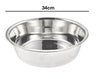 34cm Stainless Steel Dog Bowl (13.5'')