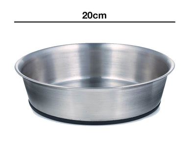20cm Stainless Steel Non Slip Heavy Bowl (64oz)