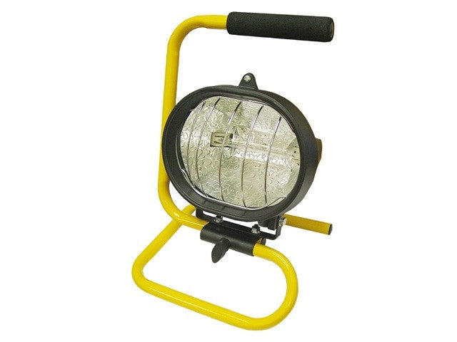 Faithfull 500w Halogen Portable Sitelight (230v)