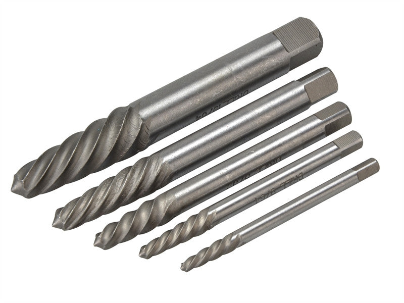 Teng Tools 5pc Stud Screw Extractor Set