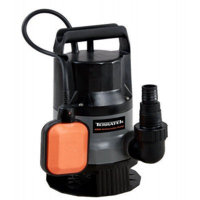 Terratek 400w Submersible Water Pump (Pumps 5M)