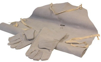 SIP Leather Welding Gloves & Apron