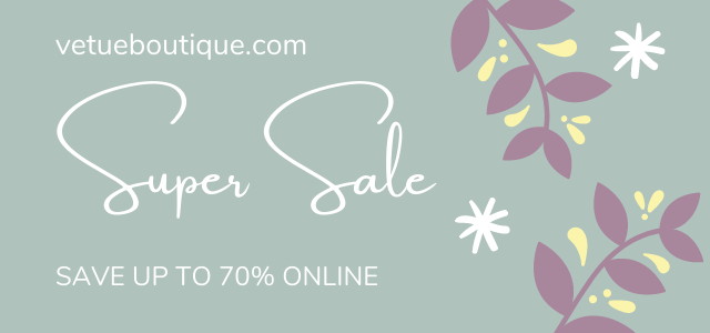 SUPER SALE - UP TO 70% OFF