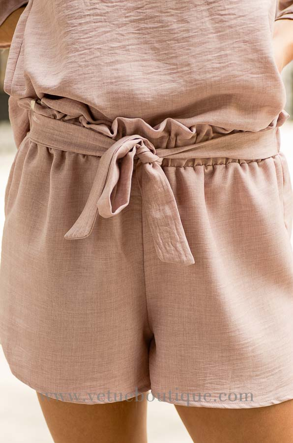 Woven waist wrap shorts-Vêtue Boutique FL USA-Women's boutique for great quality fun, laid back chic and stylish clothing and accessories-Let us dress you!