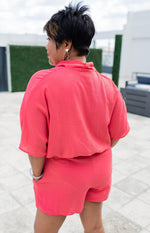 vetue-Boutique-tampa-st-petersburg-florida-online-clothing-accessories-trendy-stylish-contemporary-fashion-forward-wrap-front-drop-shoulder-short-sleeve-coral-romper-pockets
