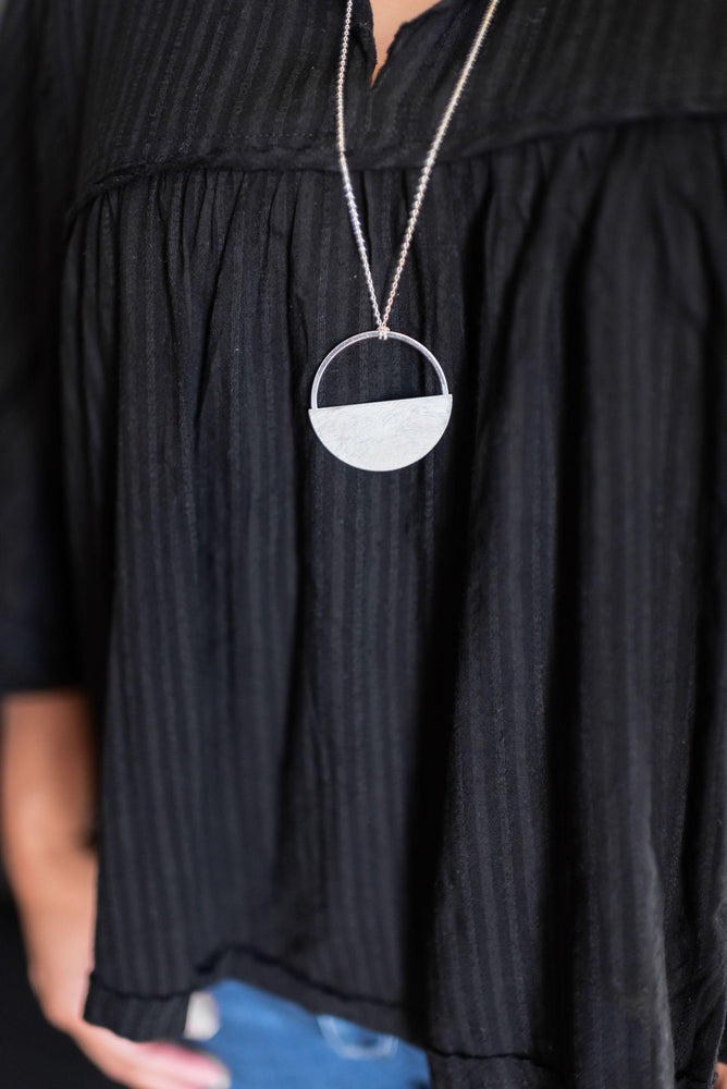 Flat Round Necklace
