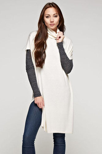 AVERY cashmere blend tunic