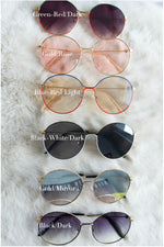 round-sunglasses-mirror-dark-lens-case-uv-protection-polycarbonate-vetue-Boutique-tampa-st-petersburg-florida-online-clothing-accessories-trendy-stylish-contemporary-fashion-forward