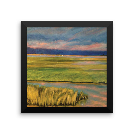 Tidal Marsh Sunset