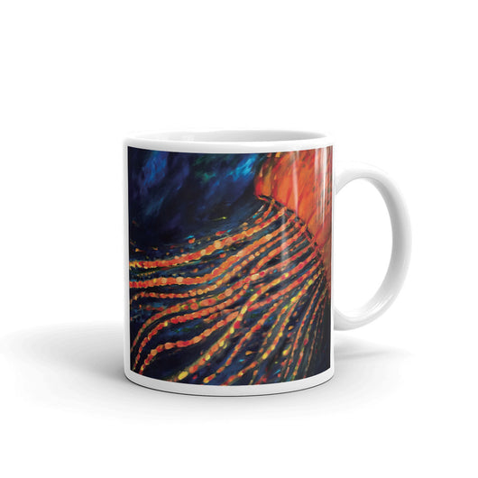 Mug - Orange Jellyfish