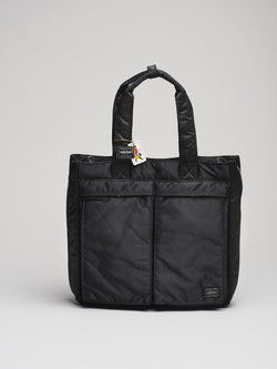 2 Way Tote Bag, Black