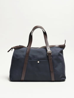 M/S Holdall, Navy/Dark Brown