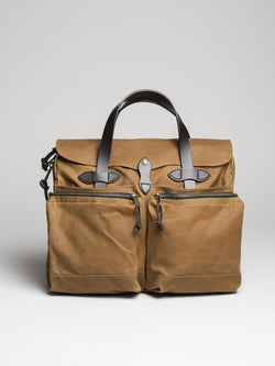 24-Hour Briefcase, Tan