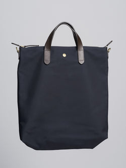M/S Shopper, Dark Blue/Dark Brown