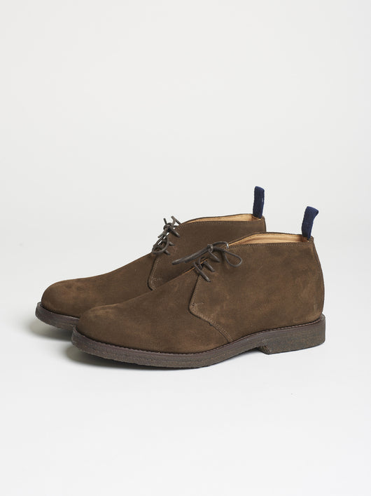 Capital Goods by Sanders Chukka Boot, Chocolate Suede