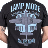 Lamp Mode Recordings official storefront 'Bomber' T-Shirt