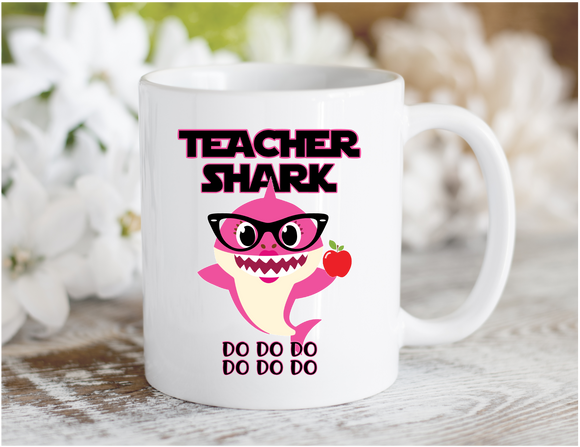 Teacher Shark Mug (Female)