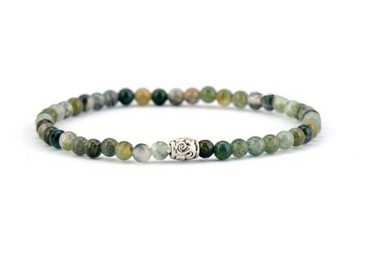 moss bracelets natural jewelry products shou men love fu chakra i bead for aagte yoga totem lucky energy agate luxury charm aura bracelet healing tibetan quartz friendship spiritual buddhist meditation fertility icon smokey mala women
