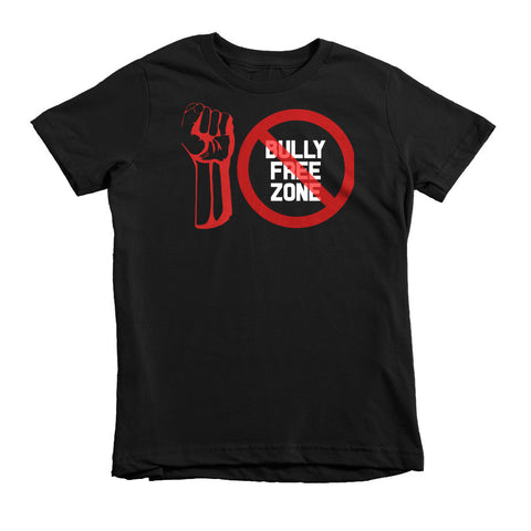 """BULLY FREE ZONE"" Short Sleeve 2, 4, And 6 Year Old Kids T-Shirt"
