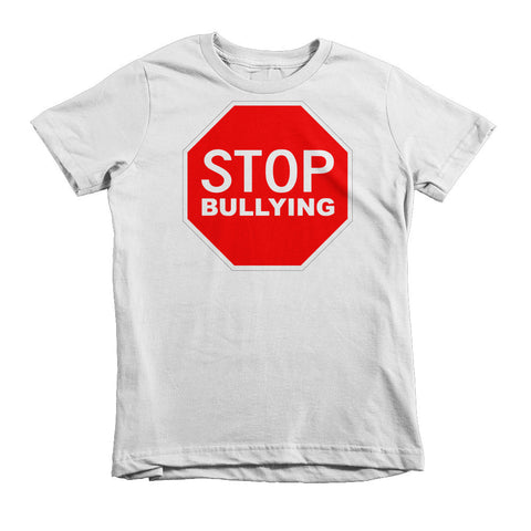 """STOP BULLYING"" Short Sleeve Ages 2, 4 And 6 T-Shirts"