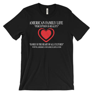 """American Family Life"" Television Unisex Short Sleeve T-Shirt"