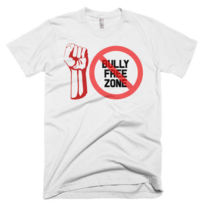 """BULLY FREE ZONE"" Short Sleeve Men's T-Shirt"