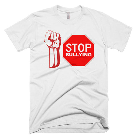 """STOP BULLYING"" Short Sleeve Student And Men's T-Shirt"
