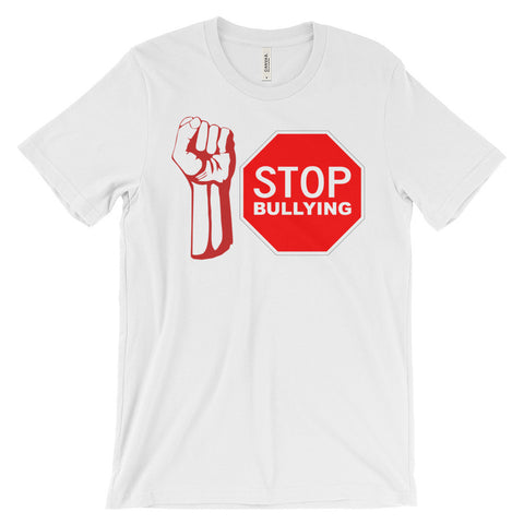 """STOP BULLYING"" Unisex Short Sleeve Student And Adult T-Shirt"