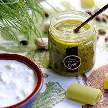 Load image into Gallery viewer, Pesto di Pistacchio in Olio evo vasetto da 190 grammi - Sciara