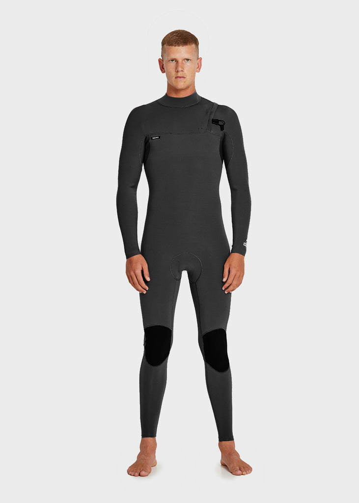 Mens Full Suit Zipperless Black NEOPRENE 3/2MM NCHE