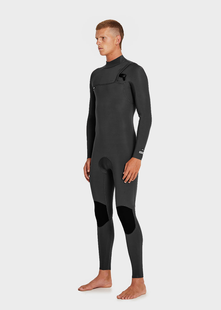 Mens Full Suit Zipperless_Black NEOPRENE 3/2MM NCHE