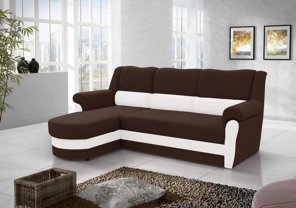 Bruno Corner Sofa Bed