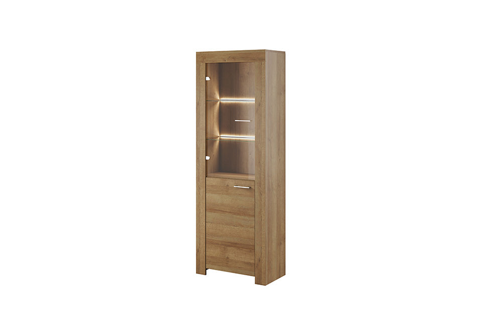 SKY Display Cabinet in Oak Riviera