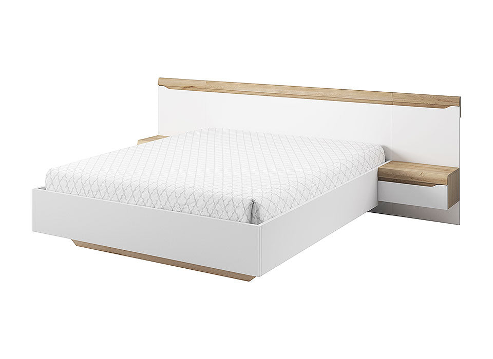 Avallon Bed+bedside tables