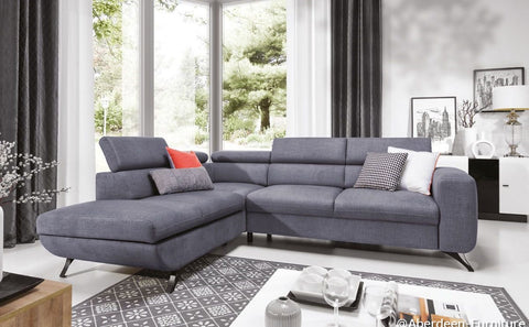 New Italian Design Corner Sofa Bed Arrato
