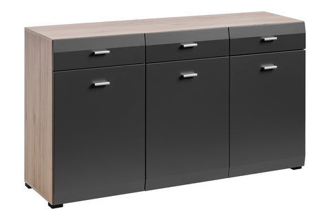 Cool Sideboard 2-San Remo Oak/Graphite